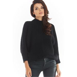 Černý pulovr A389
