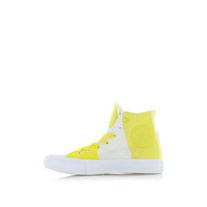 Dámské žluto-bílé vysoké tenisky Chuck Taylor All Star II Hi