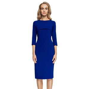 Modré šaty S075