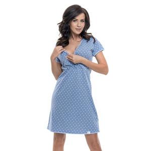 Světle modrá noční košile TCB9017