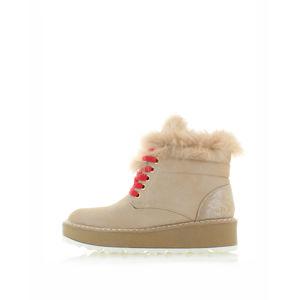 Béžové kotníkové boty Filippa