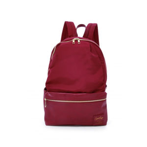 Bordový batoh Grosgrain-Like 10 Pockets Backpack