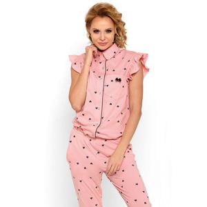 Růžové pyžamo Halle