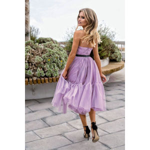 Světle fialové šaty Lara