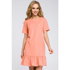 Korálové šaty MOE 282