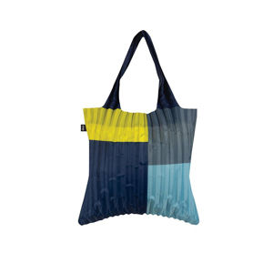 Modro-žlutá taška Pleated Sunshine Bag