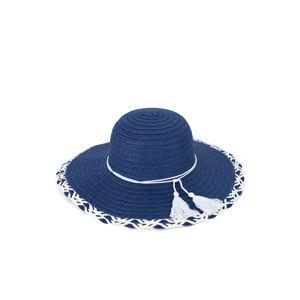 Tmavě modrý klobouk Summer Fantasy