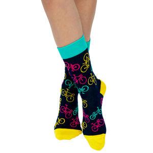 Vícebarevné ponožky Bike Socks