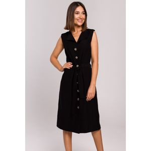 Černé šaty S208