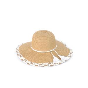 Béžový klobouk Summer Fantasy