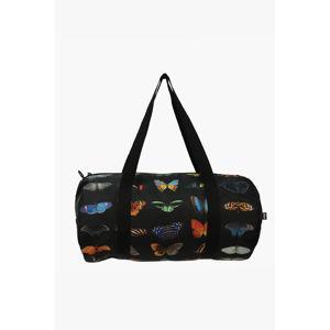 Vícebarevná obojstranná sportová taška National Geographic Butterflies & Peafowl Weekender