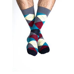 Vícebarevné ponožky Vaxholm