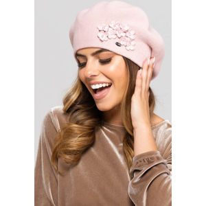 Světle růžová čepice Arizona