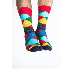 Vícebarevné ponožky Valparaiso
