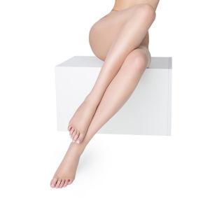 Tělové punčochy s otevřenou špičkou Nudo Nf 15DEN