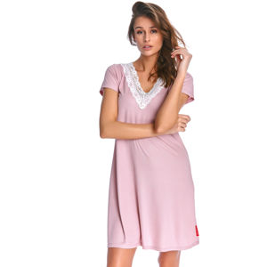 Světle růžová noční košile TW9947