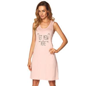 Růžová noční košile Fiona