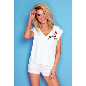 Bílé tričko K195