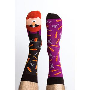 Vícebarevné ponožky Julius Scissor