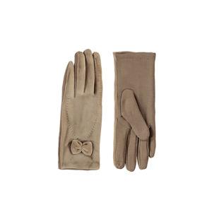 Béžové rukavice Parisa