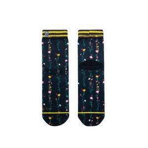 Dámské černé květované ponožky Filipa