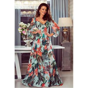 Tyrkysové šaty Maja