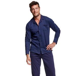 Pánské tmavě modré pyžamo Vide
