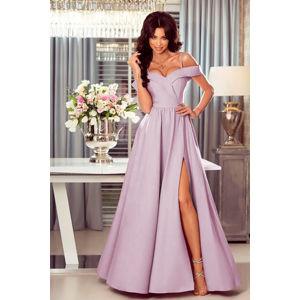 Světle fialové šaty Elizabeth