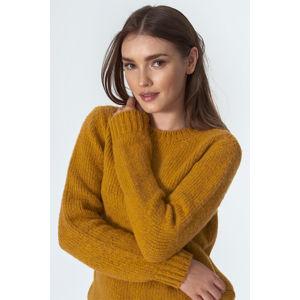 Hořčicový pulovr SW07