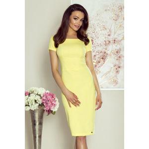 Žluté šaty M69613