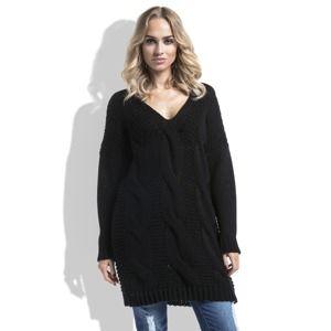 Černý pulovr I232