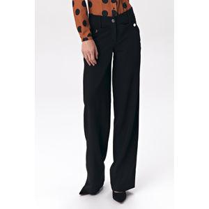 Černé kalhoty SD38