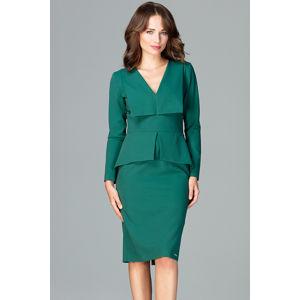 Zelené šaty K491