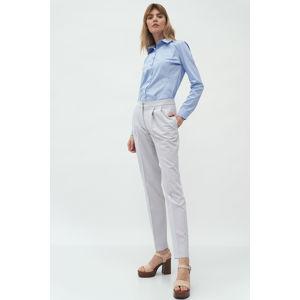 Světle šedé kalhoty SD59