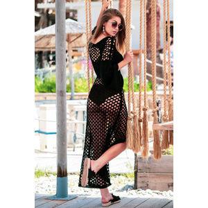 Černé šaty F732