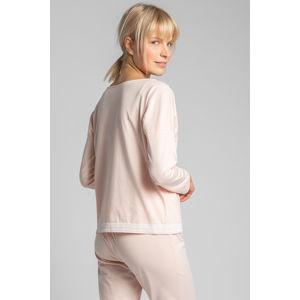 Broskvový pyžamový top LA040