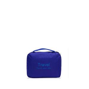 Modrá kosmetická taška Travel
