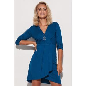 Modré šaty M579