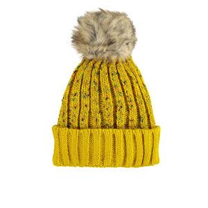 Žlutá čepice Edin