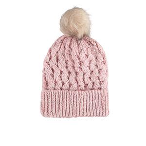Světle růžová čepice Sonya