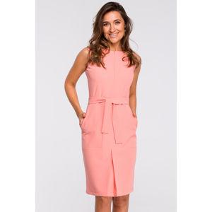 Růžové šaty S158