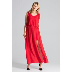 Červené šaty M691