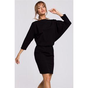 Černé šaty M495