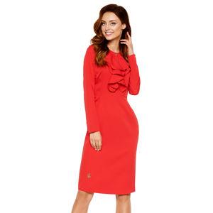 Červené šaty L270