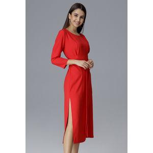 Červené šaty M631
