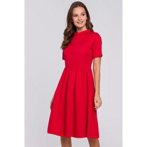 Červené šaty K028