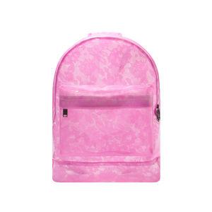 Růžový batoh Transparent Lace