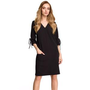 Černé šaty S111