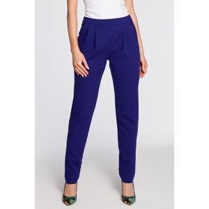 Tmavě modré kalhoty MOE 195