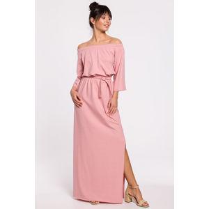 Růžové šaty B146